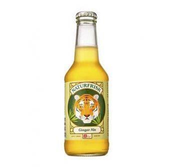 Naturfrisk Økologisk Ginger Ale 12x250ml